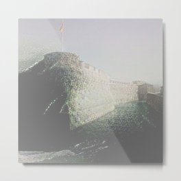 The Old Moat Metal Print