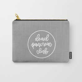 Dead Pancreas Club - White/Grey Carry-All Pouch