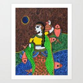 The Enchantress Art Print
