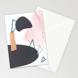 Stitched Abstraction #1 Stationery Cards