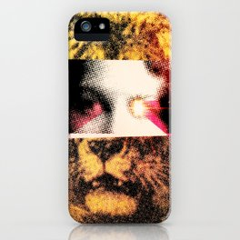 Lady Lion iPhone Case