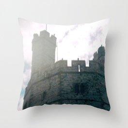 Caernarfon Castle Throw Pillow