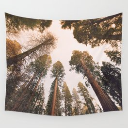 Sequoia Sunset Wall Tapestry