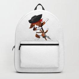 Pirate Beagle Viking Novelty Halloween Backpack