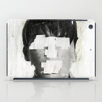 mouth iPad Cases featuring Faceless | number 02 by FAMOUS WHEN DEAD