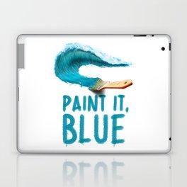 Paint It, Blue Laptop & iPad Skin