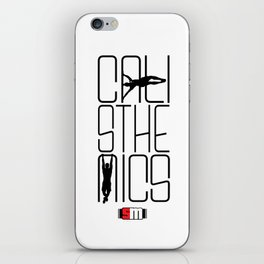 Calisthenics iPhone Skin