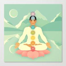 Sacred World: Chakras Canvas Print