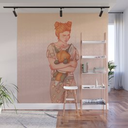 The Lady who wouldn't grow up Wall Mural