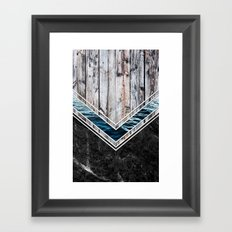 Striped Materials of Nature II Framed Art Print