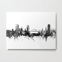 Sunderland England Skyline Metal Print