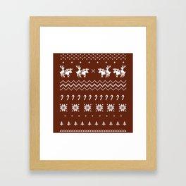 Sweater Shirt | Hump Day Framed Art Print