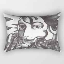 Rosas y espinas Rectangular Pillow