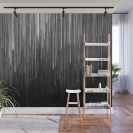 The Lights (Black and White) Wall Mural