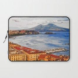 Italy. The Bay of Napoli Laptop Sleeve