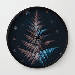 merry christmas 4 Wall Clock