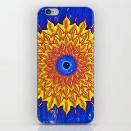 jirika fire mandala iPhone Skin