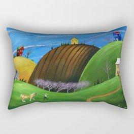 Hilly Horse Rectangular Pillow