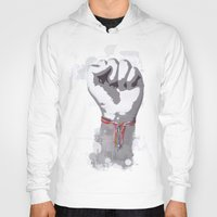 power Hoodies featuring Power by Isaak_Rodriguez