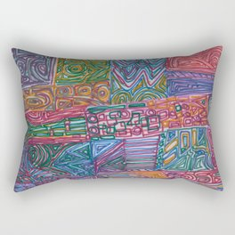 A Close Knit Community Rectangular Pillow