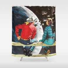 Ranch at the End of the World Shower Curtain