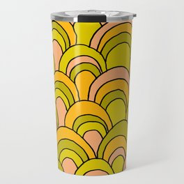 surfboard quiver 70s wallpaper dreams Travel Mug