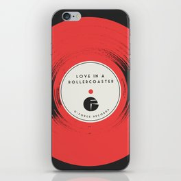 Love in a Rollercoaster iPhone Skin