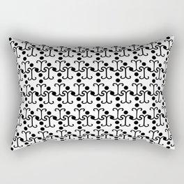 Lattice Pattern  Rectangular Pillow