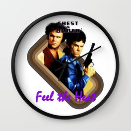 Chest and Brock- Feel The Heat Wall Clock