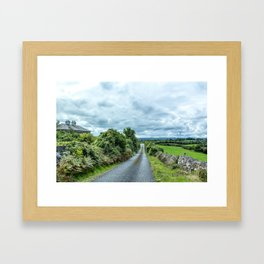 The Rising Road, Ireland Framed Art Print