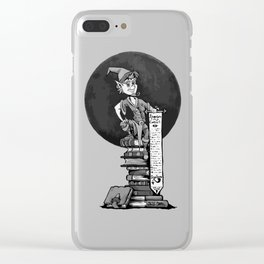 Gnome Adventure Contract Clear iPhone Case