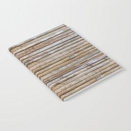 Wood Effects Raw Wood Log Cabin Lodge Rustic Notebook