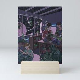 Voltrn- Plant Shop      voltrn, cartoons ,vld ,keith, kogane, pidge, gunderson, lance ,mcclain, pl Mini Art Print