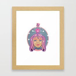 Brown Babe Framed Art Print