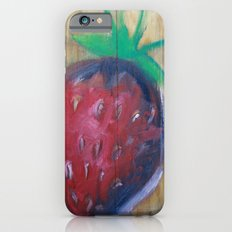 strawberry fields iPhone 6s Slim Case