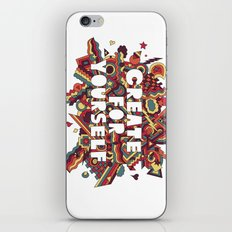 Create For Yourself (2) iPhone & iPod Skin