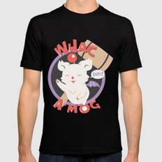 Whac-A-Mog Black X-LARGE Mens Fitted Tee