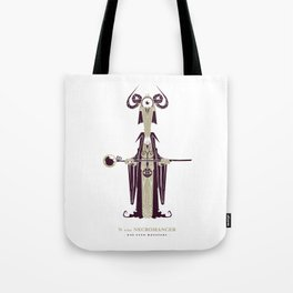 N is for Necromancer Tote Bag