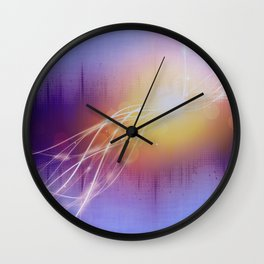 Morning rise of music Wall Clock