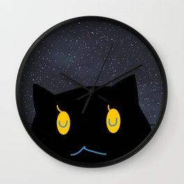 cat-371 Wall Clock