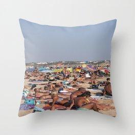 Beach Time 2! Throw Pillow