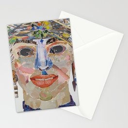 Woman Artist Stationery Cards
