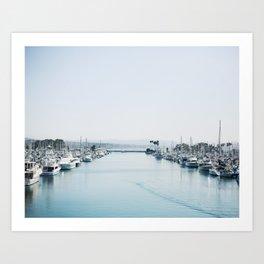 Dana Point Harbor Art Print