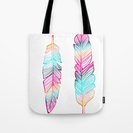 Gypsy Feathers, Feather Art Tote Bag
