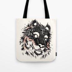 Tiger Power Tote Bag