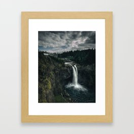 Twin Peaks Great Northern Hotel Framed Art Print