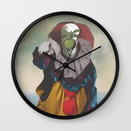 """IT's Pennywise in """"The Son of a Man"""" Wall Clock"""