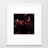 dark souls Framed Art Prints featuring SOULS by La Belle Noire
