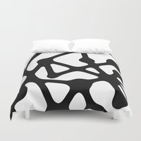 constellation Duvet Covers featuring Constellation by muchö