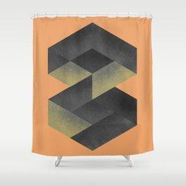 A_Minimal 013 SQ Shower Curtain